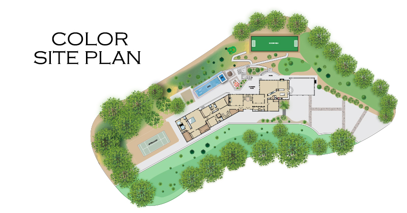 Color Site Plan