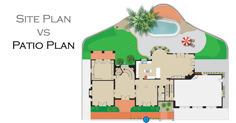 Color Patio Floor Plan